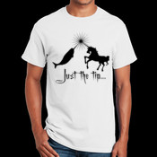 Just the tip... - Gildan Ultra Cotton 100% Cotton T Shirt