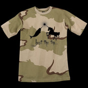 Just the tip... - Code V Camouflage T-Shirt