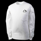 Just the tip... - Gildan 6.1 oz Ultra Cotton Long-Sleeve Pocket T-Shirt