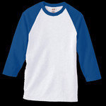 Anvil 3/4-Sleeve Raglan Baseball Jersey