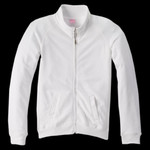 LAT Ladies' French Terry Raglan-Sleeve Cadet Jacket