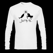Just the tip... - Gildan Ultra Cotton 100% Cotton Long Sleeve T Shirt